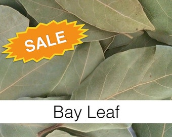 SALE: Bay Leaf (Laurus nobilis) - Organic