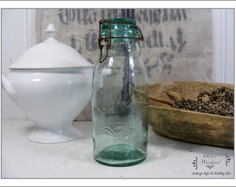 very old Jar of La Lorraine / 1 liter from France