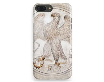 Eagle iPhone Case, Gold Marble iPhone, Marble iPhone 7 Case, Bird iPhone Case, iPhone 7 Plus Case, iPhone 6 Case, iPhone 7 Cover, iPhone SE