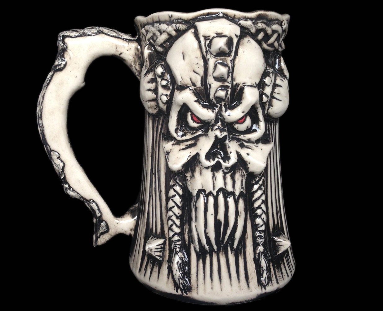 Gift For Him Handmade Viking Beer Mug