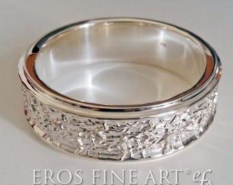C-Ring No. 5 - menjewelry, jewel for men, C-Ring, sockring, penisring, phallusring, lingamring, lovering