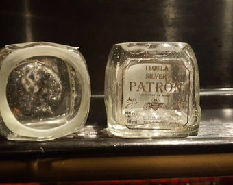 Patron shot glasses (set of 2)