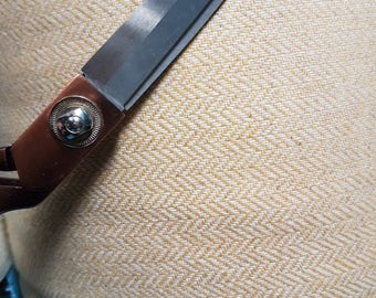 Italian pure wool herringbone fabric  ,material ideal for coats and suits