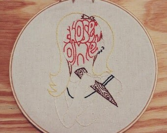 Buffy The Vampire Slayer Embroidery Pattern