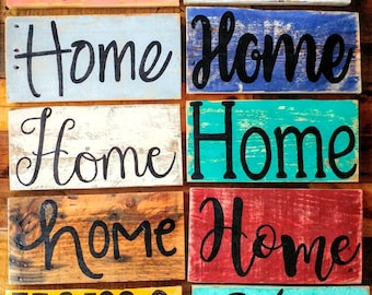 Rustic Home sign, Home sign, photo prop, Home sign, rustic Home sign, pallet board home decor, home decor, pallet art, wedding gift