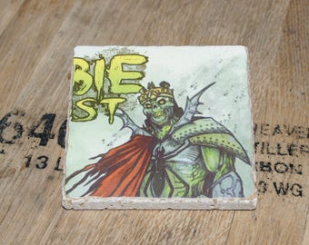 UPcycled Coaster - 3 Floyds Brewing Co. - Zombie Dust