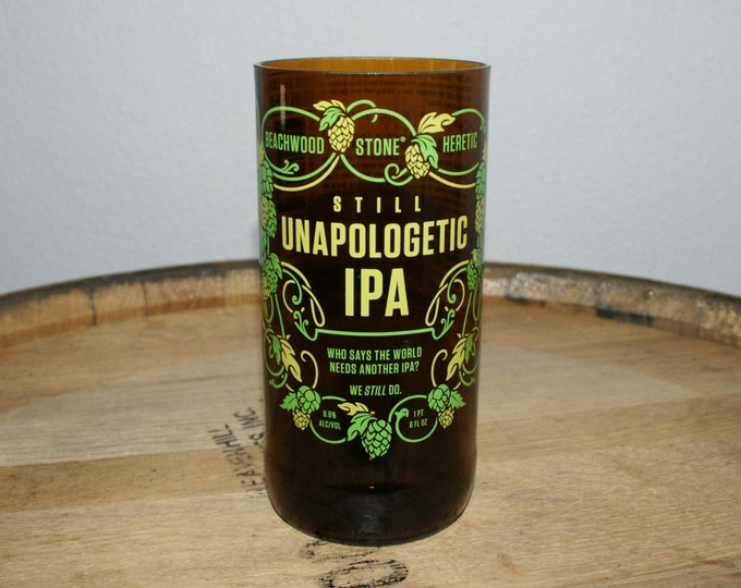 UPcycled Pint Glass - Stone Brewing Co - Still Unapologetic IPA