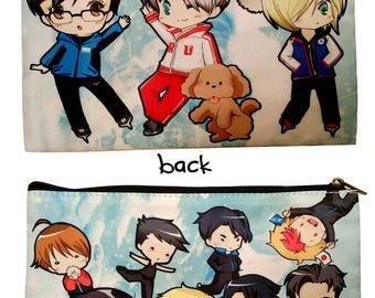 Yuri On Ice cosmetic pencil 3ds bag