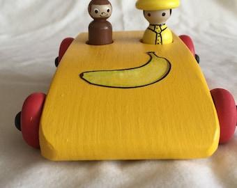 Monkey banana car