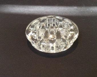 Glass Flower Frog for Viking Glass Flowerlite Bowl
