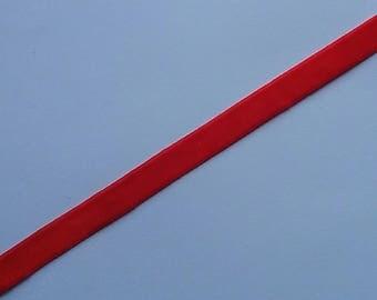 5 Yards 1 cm wide Orange Velvet Trim Orange velvet trim Orange ribbon velvet ribbon decorative ribbon devocative trim