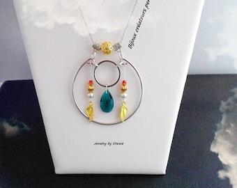 Jewelry creators pendant. Small dreams