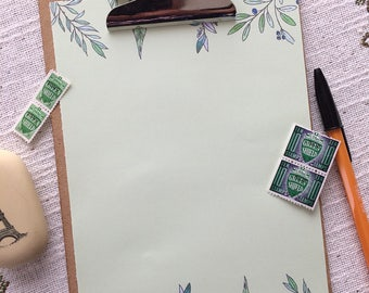 Spring Greenery Writing Paper-Stationery-Note Paper