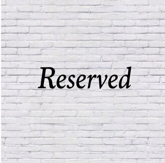 Reserved for immsdoc