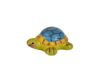 Fairy Garden  - Blue Box Turtle - Miniature