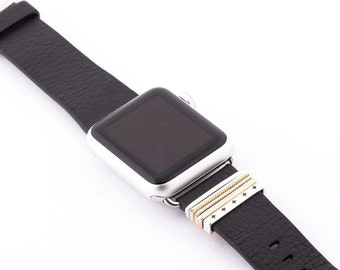 Classic Stack™ stacking rings accessory for Apple Watch Classic Buckle Leather Bands