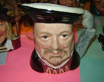 Royal Doulton Henry 8th character mug, toby jug