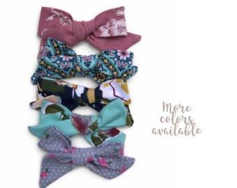 Toddler girl clips - toddler girl bows - toddler headbands - toddler bow clips - little girl clips - toddler girl headbands