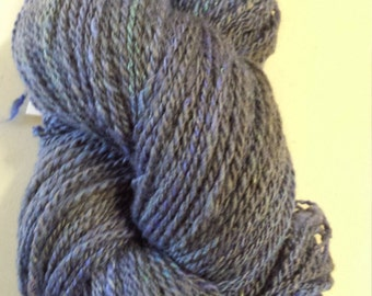 CC17/411 Handspun Yarn, Wool/silk blend