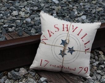 Nashville Tri-Star Pillow