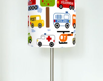 Table lamp - cars - favorite color