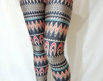 MEDIUM - Golden Dahlia Leggings