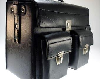 Bag Camera bag Photo bag Artificial leather bag Artificial leather