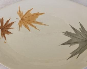 5 Piece Mid-Century Iroquois Informal Ben Seibel Harvest Time Platter and Bowl Set