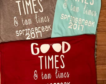 Monogrammed Good Times Tank