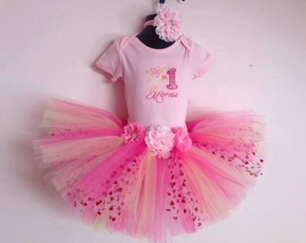 Personalised 1st Birthday Tutu Outfit