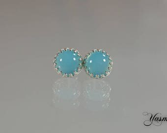Maharani with light blue chalcedony