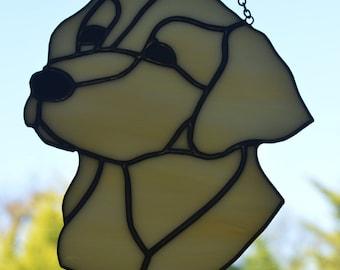 Labrador Stained Glass Suncatcher