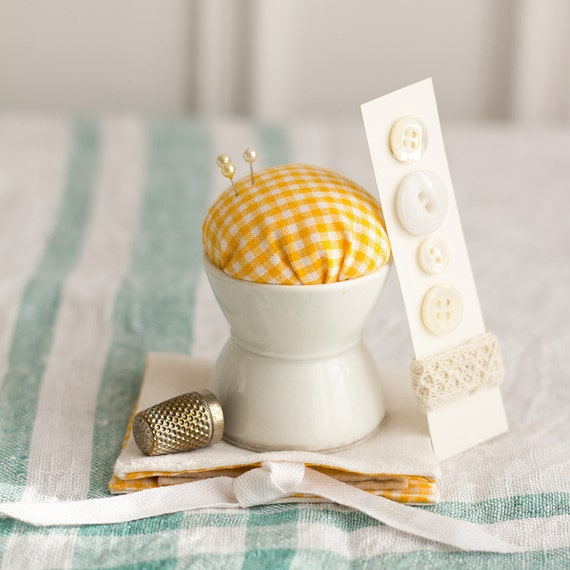 Sunny Side Check - Sewing Set