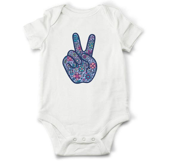 Baby Gifts Yoga : Baby gift peace bodysuit hipster clothes yoga