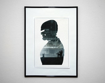 Murphy. Minimalist Movie Poster Art Print.