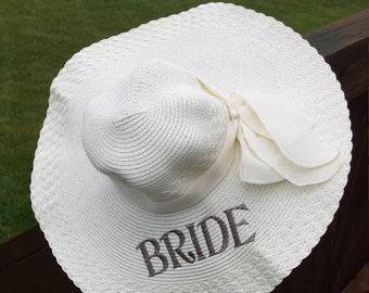 BRIDE Beach Hat