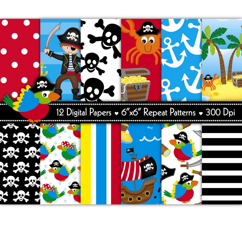 pirate digital paperdigital paperpirate ship paperpirate