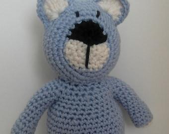 pull-string plush teddy bear