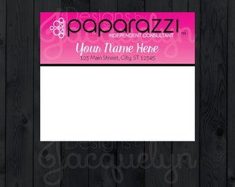 Paparazzi Accessories Business Cards w by MyCrazyDesigns