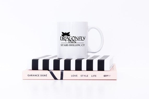 Gilmore Girls Mug | Dragonfly Inn | Stars Hollow, CT