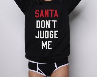 Ugly Christmas Sweater, Tacky Christmas Sweater, Funny Christmas Sweaters, Santa Shirt, Cute Christmas Sweater, Naughty or Nice Shirt