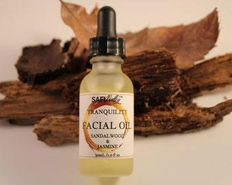 Tranquility Sandalwood & Jasmine | Facial Oil