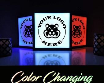 Full Color Business Sign, Custom Logo Sign, Custom Logo Design, Light Up Sign, Custom Name Sign, Illuminated Sign, Custom Business Sign