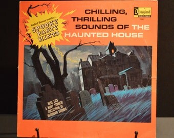 1964 Chilling, Thrilling Sounds of The Haunted House Disneyland Record 1257