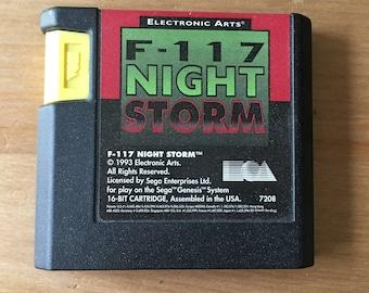 F-117 Night Storm Sega Genesis 1993