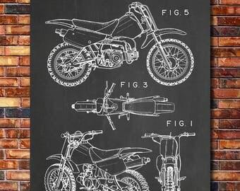 Patent of Honda Dirt Bike 1997