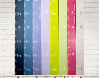 Growth Chart - Growth Ruler - Wood Growth Chart - Growth Chart Ruler - Wooden Growth Chart - Kid Nursery Decor