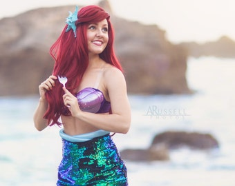 Ariel Inspired Style Wig