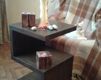 """Unique coffee tables ,modern coffee table , coffee table , wood coffee table,portable laptop table,serving table,small table  """"Ideal""""."""