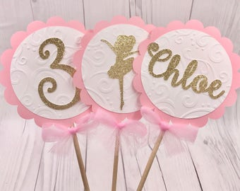 Ballerina party etsy for Ballerina party decoration